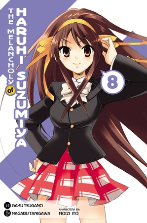 The Melancholy of Haruhi Suzumiya, Vol. 8 (Manga)
