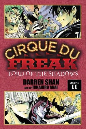 Cirque Du Freak: The Manga, Vol. 11