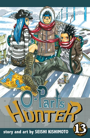 o-parts-hunter-vol-13