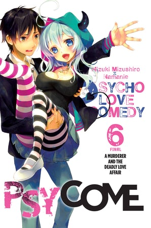 psycome-vol-6-light-novel