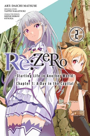 Re:ZERO -Starting Life in Another World-, Chapter 1: A Day in the Capital, Vol. 2 (manga)