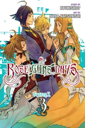 Rose Guns Days Season 2, Vol. 3