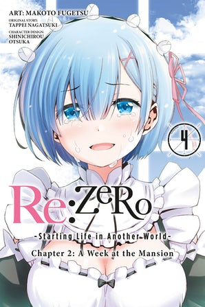 Re:ZERO -Starting Life in Another World-, Chapter 2: A Week at the Mansion, Vol. 4 (manga)
