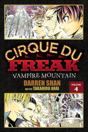 Cirque Du Freak: The Manga, Vol. 4