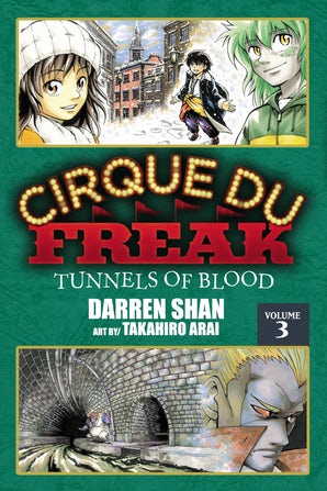 Cirque Du Freak: The Manga, Vol. 3