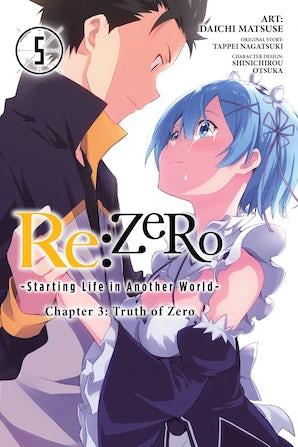 Re:ZERO -Starting Life in Another World-, Chapter 3: Truth of Zero, Vol. 5 (manga)