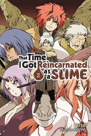 that-time-i-got-reincarnated-as-a-slime-vol-2-light-novel