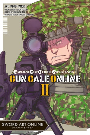 Sword Art Online Alternative Gun Gale Online, Vol. 2 (manga)
