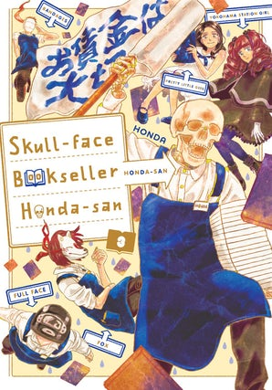 Skull-face Bookseller Honda-san, Vol. 3